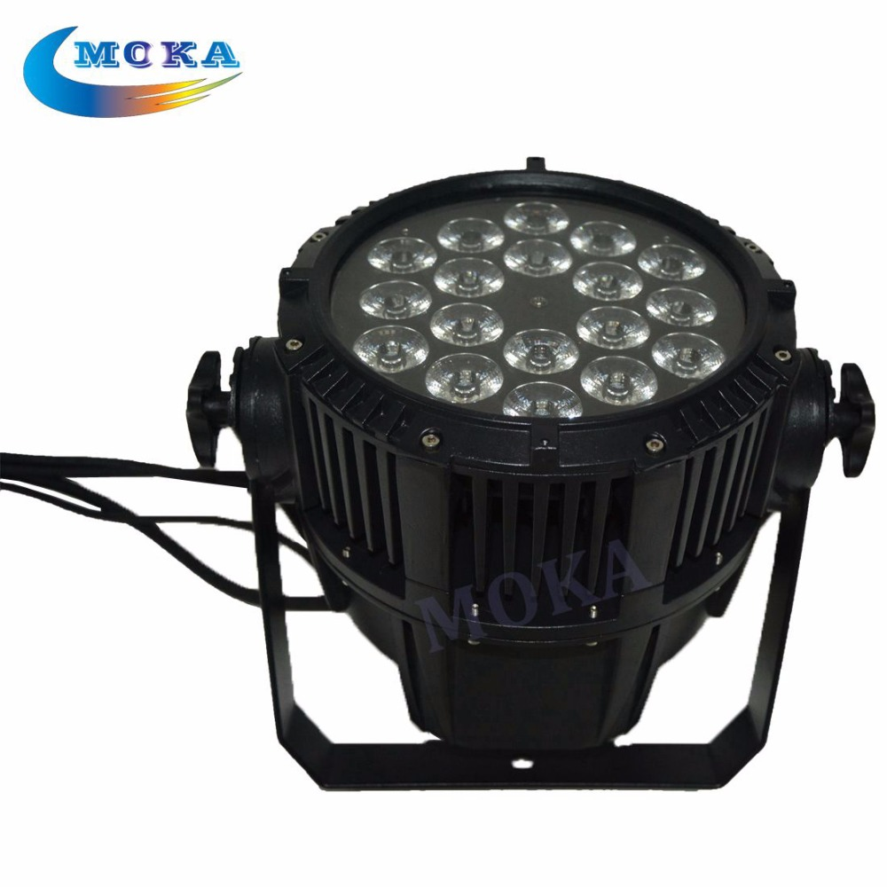 18X12w 6In1 waterproof dj led par light dmx disco light with awesome effect for wedding decoration party dj projector