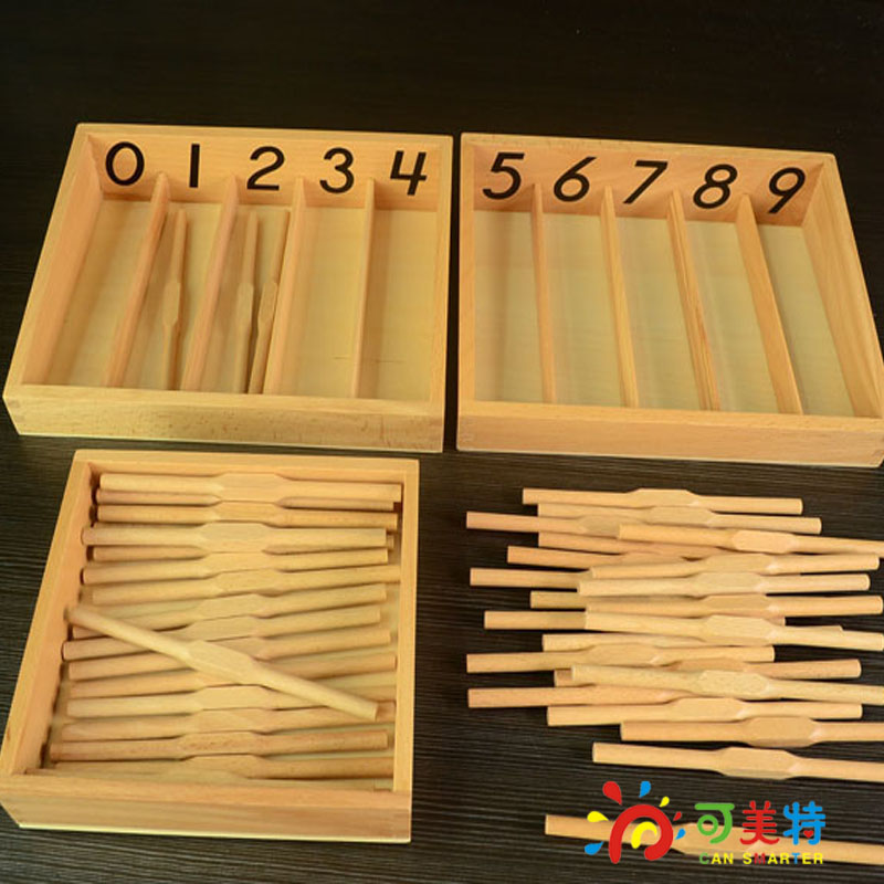 Montessori Materials Beech Wooden Spindle Box International Pack Early Learning Education Toy Can Smarter montessori materials paper for geometric inlay steel boards beech wood math toys early education toy can smarter freee shipping