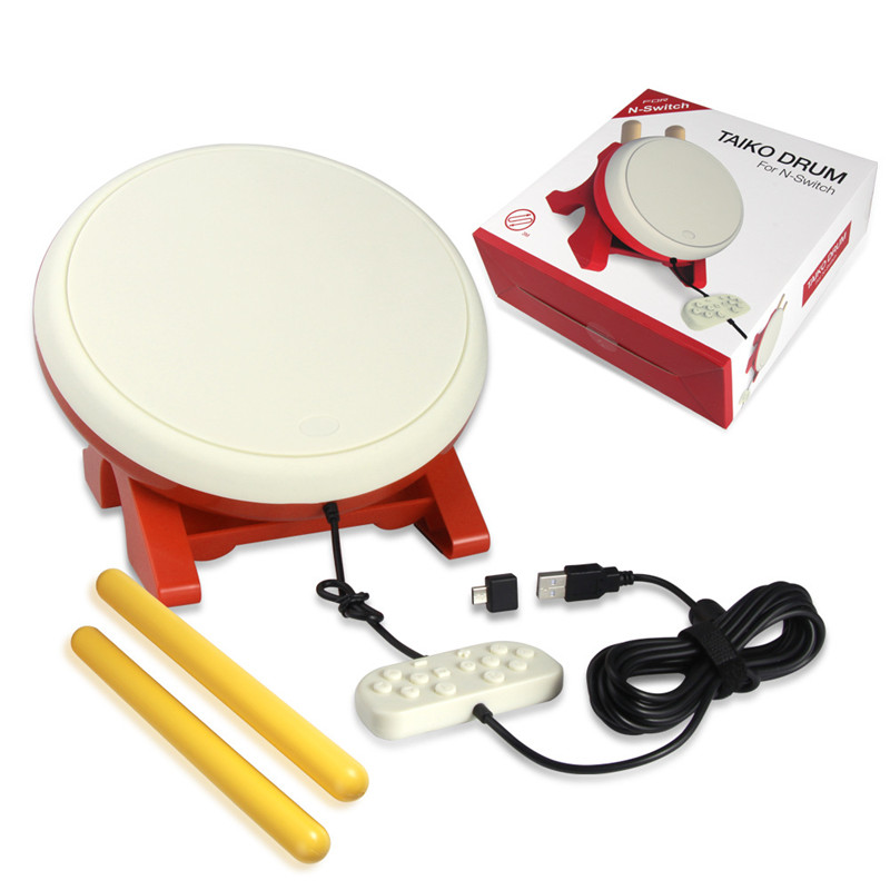 TV Kinect Gaming Drum For NS Joy Con video game Taiko Drum For Nintend Switch NX Console game accessories