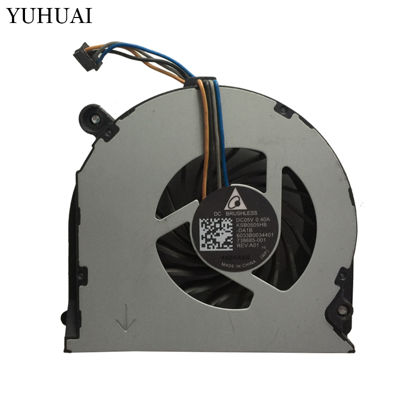 Laptops Replacements Cpu Cooling Fans Fit For HP Probook 650 G1 655 G1 640 G1 645 G1 738685-001 Notebook Cooler FansLaptops Replacements Cpu Cooling Fans Fit For HP Probook 650 G1 655 G1 640 G1 645 G1 738685-001 Notebook Cooler Fans