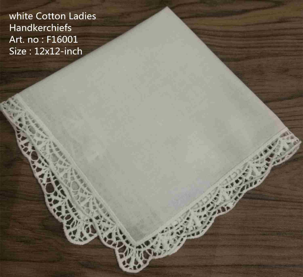 Set Of 12 Fashion Handkerchiefs White Cotton Wedding Handkerchief Vintage Lace Hankies Hanky For The Mother Of The Bride 12