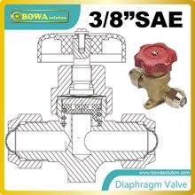 3/8 «запорный мембранные клапаны оснащены три диафрагмы из нержавеющей стали, которые обеспечивают долгий срок службы