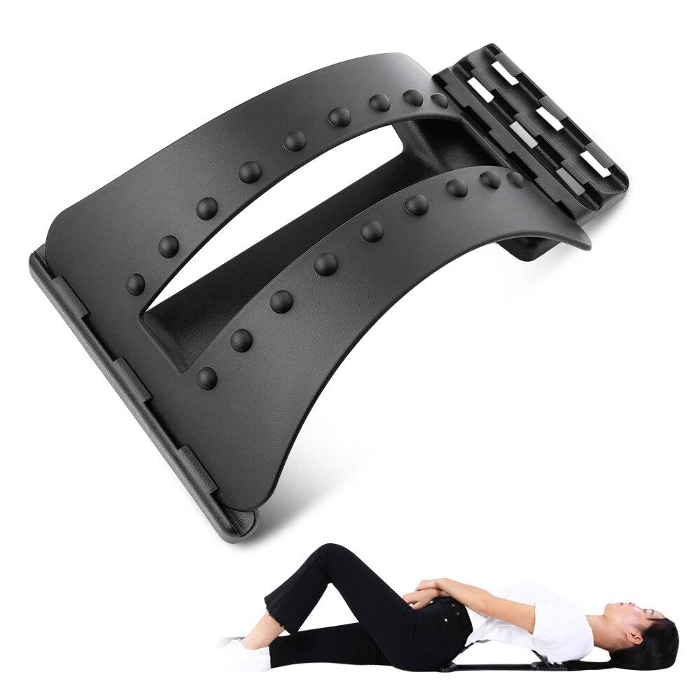 Back masaje Magic Stretcher Fitness Equipment estiramiento Relax Mate Stretcher apoyo Lumbar Spine alivio del dolor quiropráctica