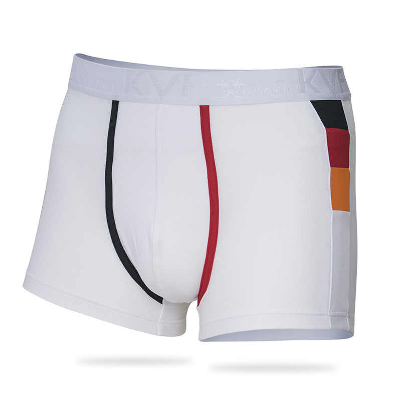 bc903e3cfed870 ... KalvonFu Mens 4pcs\lot Soft Boxers Cotton Boxer Men Solid Boxer Shorts  Plus Size Mens ...