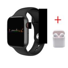 Bluetooth smartwatch z funkcją dzwonienia W34 44MM aparat ekg do mierzenia tętna serca inteligentne zegarki mężczyźni kobiety dla apple iphone huawei xiaomi pk IWO 8 IWO 9 tanie tanio lauhwl Brak Android OS 128 MB Passometer Fitness tracker Uśpienia tracker Wiadomość przypomnienie Przypomnienie połączeń