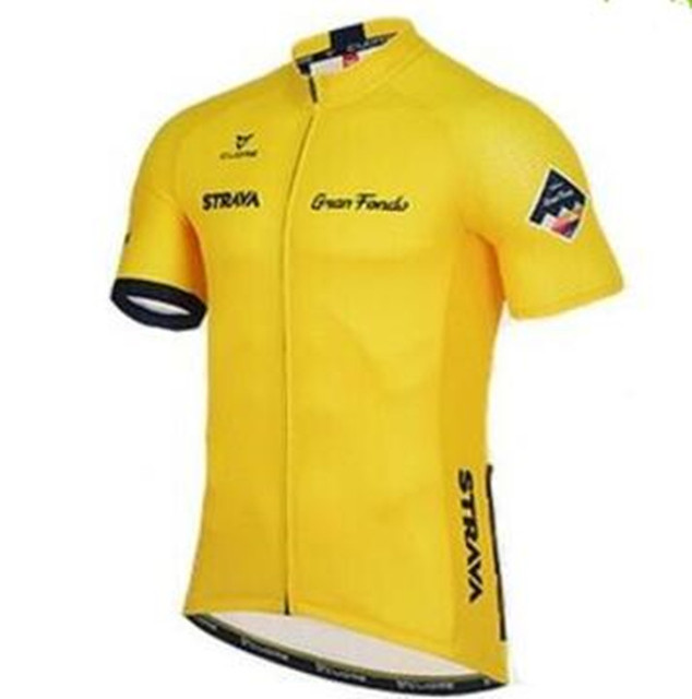 STRAVA Radfahren Kleidung/Radfahren Jersey/Fahrrad Team Roupa Ciclismo bike Outdoor bicicleta Sport Kurzarm cycling Maillot
