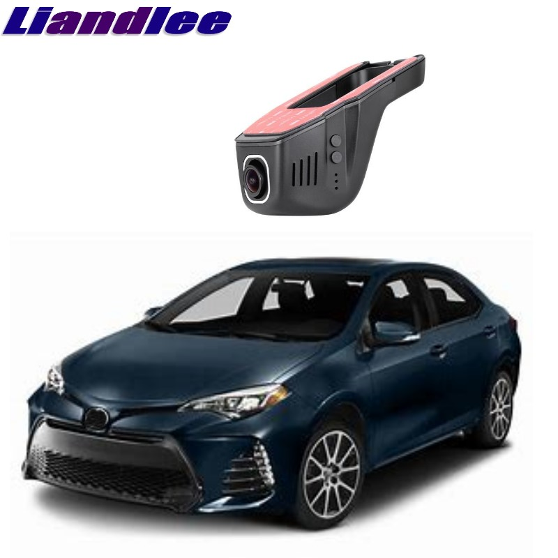 Liandlee For Toyota Corolla E120 E130 E140 E150 E160 2000~2018 Car Black Box WiFi DVR Dash Camera Driving Video Recorder цена