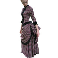 sc 047 Victorian Gothic/Civil War Southern Belle loose Ball Gown Dress Halloween Vitage dresses Sz US 6 26 XS 6XL