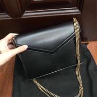 Esbear Роскошные Брендовые женские топ из коровьей кожи простые однотонные сумки маленькие сумки через плечо для девочек сумки мессенджеры