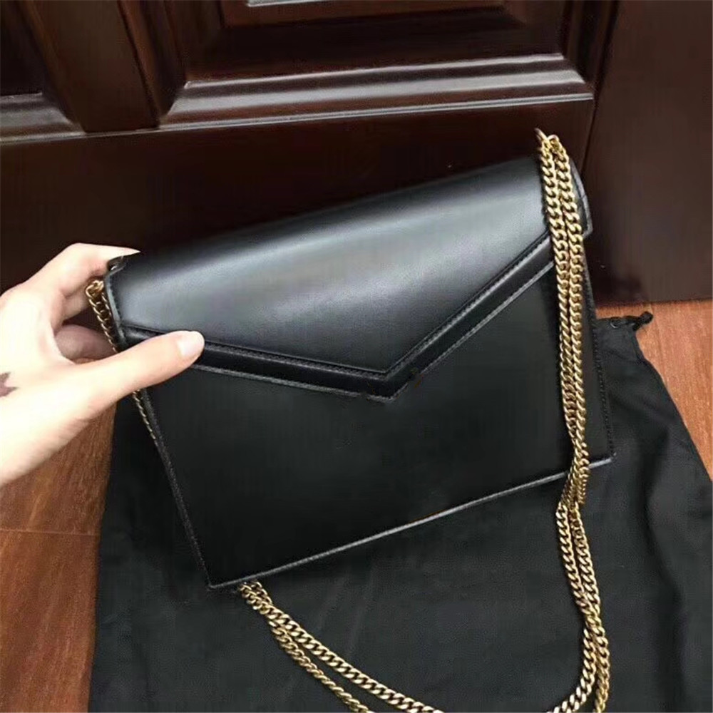 Esbear Luxury Brands Women's Top Cow Leather Simple Solid Handbag Small Shoulder Bags Crossbody Bags For Girls Messenger Bags