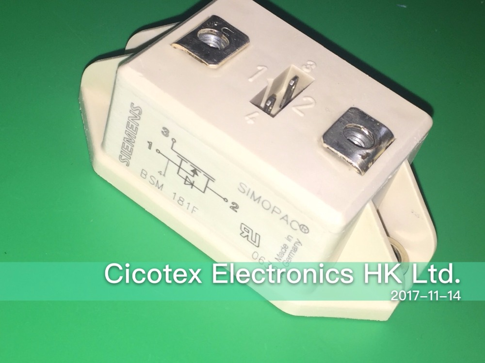 BSM181F SIMOPAC IGBT Module Power module Single switch FREDFET N channel Enhancement mode