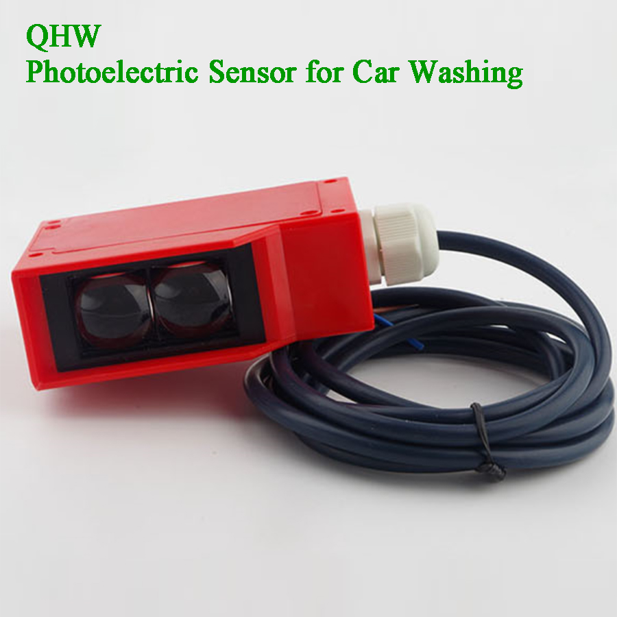 7m Garage Door Sensor Diffuse Reflective Photoelectric Switch Infrared Motion Sensor Object Detecto Photocell Obstacle Avoidance