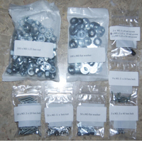 3D printer Reprap Prusa Mendel i2 nut screw fastener set Metric Hardware Kit, Nuts, Washers, Bolts for DIY 3D Printer