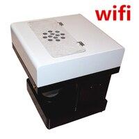 2017 New Lattee Printer Coffee Machine Cake Food Ediable Ink Printer Can Print Cookies Flowers Coffee