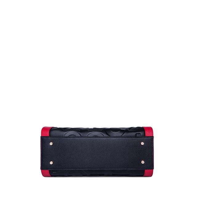 ZOOLER Red Handle Fashion genuine leather Shoulder bags women luxury Brand handbags woman tote bags designer bolsas femeninas