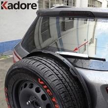 Для Ford EcoSport 2013 ABS хромированный задний Чехол для стеклоочистителей, отделка заднего стеклоочистителя, чистящие автомобильные аксессуары