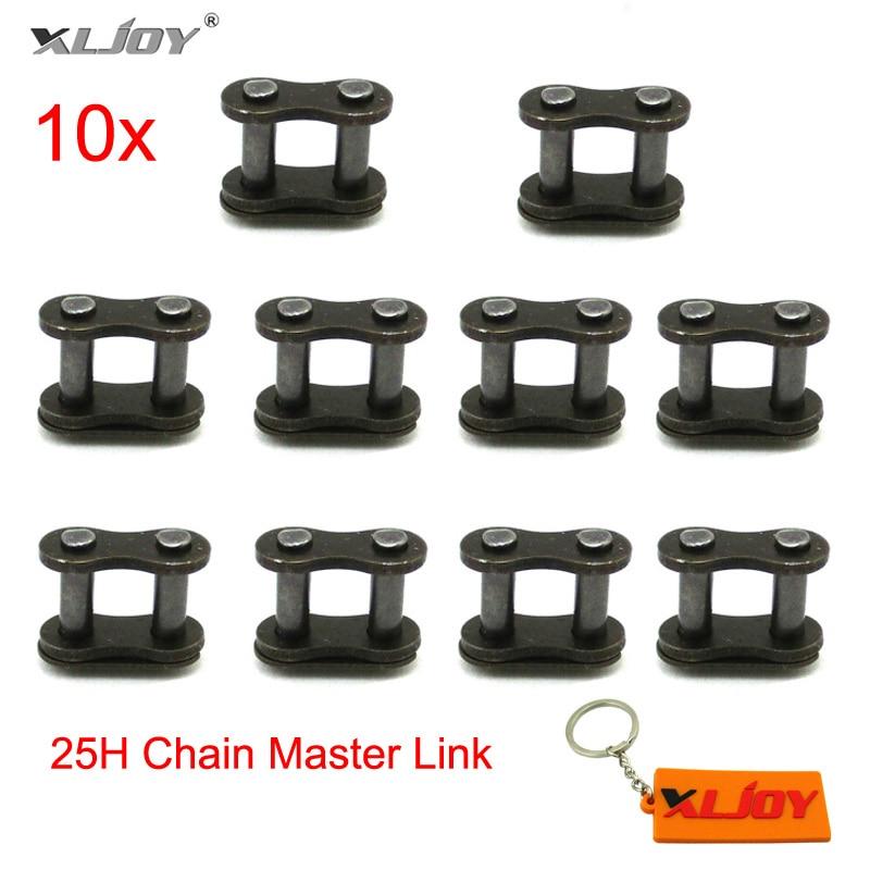 ZXTDR 5PCS 25H Chain Master Link for Mini Moto ATV Quad Pocket Bike Go Kart