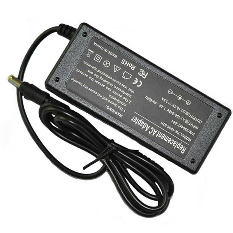 Новый 18,5 V 3.5A 4,8x1,7 мм ноутбук с адаптером переменного тока Зарядное устройство для hp compaq 500 510 520 530 540 550 620 625 CQ515 Запасной источник питания