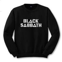 Classic Metal Black Sabbath Symbol Letter Printing Men Sweatshirt Boys Black Sweat Shirt Male Printed Clothing S -2XL Rock Music