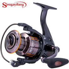 Sougayilang WQ2000-5000Carp Spinning Fishing Reel 13+1BB Metal Spool Trout Fishing Coil Wheel Spinning Reel Fishing Tackle Pesce