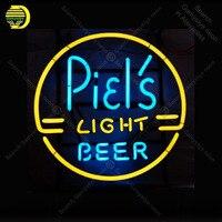 Piels Light Beer Neon sign Glass Tube Bulb Light icons light Lamps Store display Signboard Handmade neon light neon for room