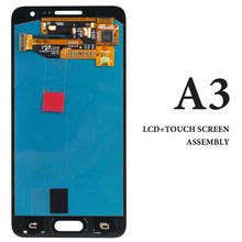 For Samsung A3 A3000 A300F LCD Screen Panel AMOLED Blue White Gold Pantalla For Samsung A3 2015 LCD Display Digitizer Assembly(China)
