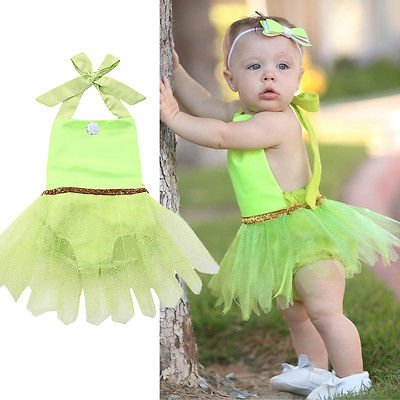 Fashion Xmas Newborn Baby Girl playsuit Tulle Tutu Rompers Cute Kids Outfits Sunsuit