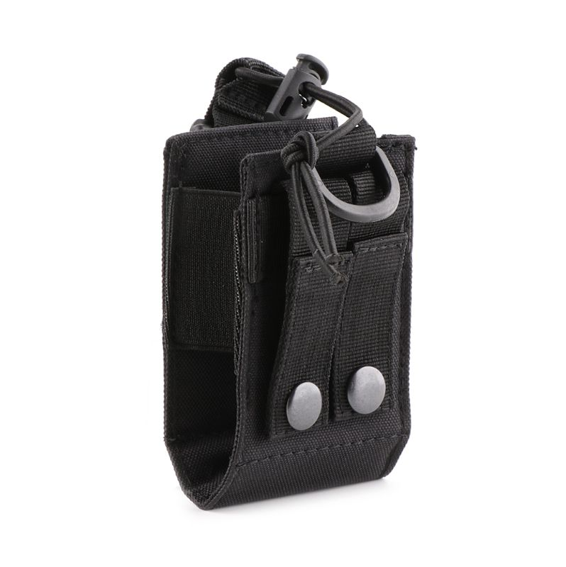 Tactical Molle Interphone Case Pouch System Attachment Radio Walkie-talkie Outdoor Sports Bag