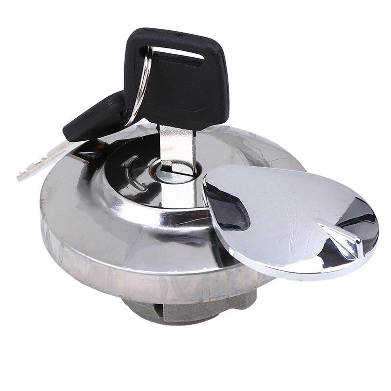 Мотокросс Топливный бак газа Кепки + ключ ручка замки 70 мм Чехлы для Honda Shadow Spiri ...