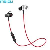 מקורי meizu ep51 wireless ספורט אוזניות bluetooth apt-x רעש אוזניות אוזניות סגסוגת אלומיניום shell tpe עבור ios אנדרואיד