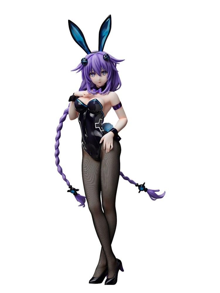 Hyperdimension Neptune coeur violet figurines Sexy lapin fille PVC figurine Sexy fille jouets poupée cadeau