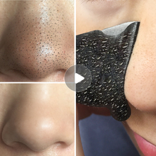 100 pcs Removedor de Cravo Nariz Máscara de Tratamento Da Acne Descamação Máscara Cabeça Preta Limpeza Profunda Pore Faixa Preta Rosto Cuidados Com A Pele máscara