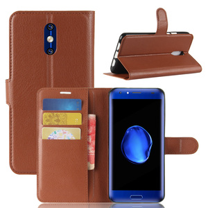 UTOPER For Doogee BL5000 Case Silicon PU Leather Magnetic Card Slot Back Case For Doogee BL 5000 Cover For Doogee BL5000 Coque(China)