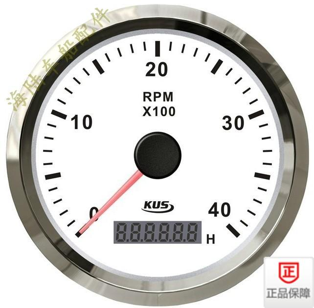 Gasoline, diesel engine, tachometer, speedboat, car, truck, 4000 to 12V/24V vehicle for ship use new arrival 85mm auto stainless digital tachometer 80x100rpm for engine car truck 12v 24v fast shipping