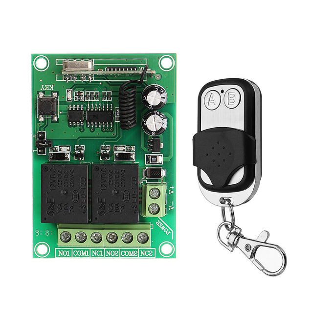 315/ MHz Frequency Ensure Sensitive RF Wireless Relay Switch with