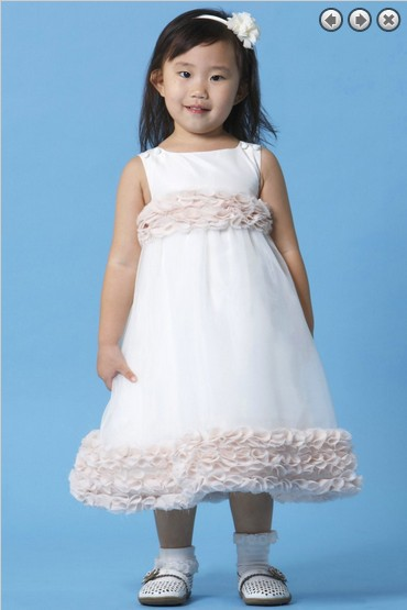 free shipping   flower     girl     dresses   for weddings 2016 baby christening communion fashion kids christmas pageant   dresses   for   girls