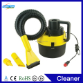 High Power Multifunctional DC 12V Canister Portable Wet And Dry Auto Car Vacuum Cleaner Wash With Cigarette Plug Yellow YF-002