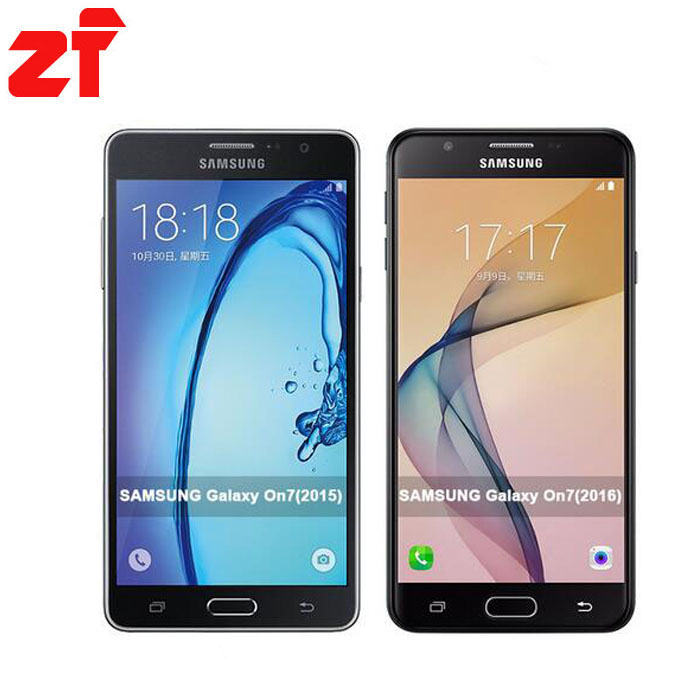 Original New Samsung Galaxy On7 G6100 5.5''13MP Quad Core 1280x720 Dual SIM Smartphone 4G LTE Unlocked Mobile phone