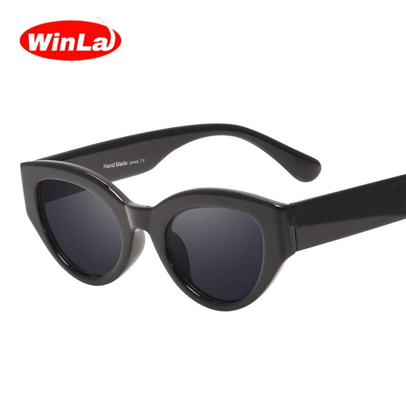 Winla 2019 Moda Óculos De Sol Das Mulheres Designer de Marca Óculos de Sol Populares Para As Mulheres Vintage Shades Eyewear Oculos Gafas UV400
