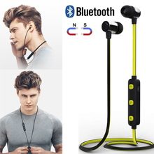 Buy L7 Magnetic Bluetooth Headset Earphone V5.0 Waterproof Sports Wireless Headphones with Microphone directly from merchant!