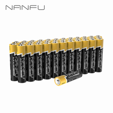 NANFU 36 Pcs/Lot 1.5V 950 mAh Alkaline Battery AAA Batteries LR03 for Clock Remote Controller Toy Electronic Device Gamepad