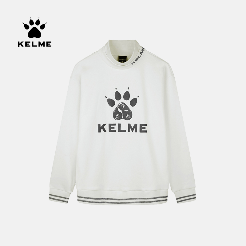 KELME Hooded Pocket Long Sleeved Sweater Women S Sports Shirt Casual Pullovers Female Chic Loose Winter