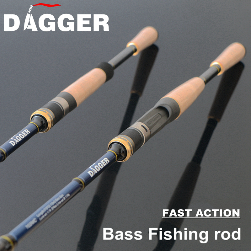 Buy dagger 702m bass fishing rod fast for Bass fishing rod selection guide
