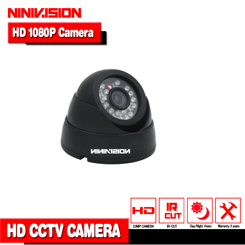 HD 1080P Dome AHD Camera 2MP CCD Security Video HD Analog Camera Night Vision IR 40M CCTV Camera For AHD DVR NINIVISION CAMERA кровать из массива дерева furniture in the champs elysees