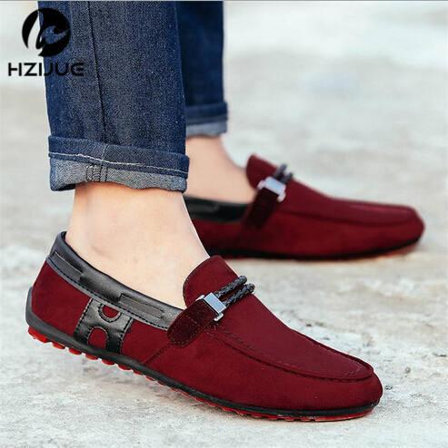2c045a79 2015 primavera nueva moda zapatos casuales zapatos de hombre hombres  zapatos mocasines para hombre zapatos de marca envío gratis en Mocasines de  Zapatos en ...