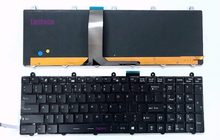New Full Colorful backlit US keyboard for MSI GT70 2PC Dominator/2PE Dominator Pro(China)