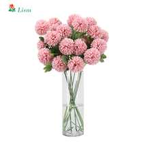 57cm High Quality 9 Pcs  Artificial Daisy Silk 2 Big Head Home Decoration Thanksgiving Halloween Gift Beauty Forever