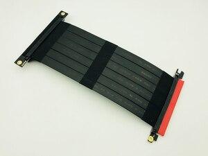 Image 5 - 高速の Pci Express 3.0 16X 柔軟なケーブル延長アダプタライザーカード PC グラフィックスカードコネクタケーブル 23 センチメートル PCIe ライザー