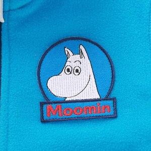 Image 5 - Moomin 2019 Nieuwe Kinderen Fleece Jas Herfst Jas Karakter Blauw Rits Casual Fleece Jas Kids Kleding