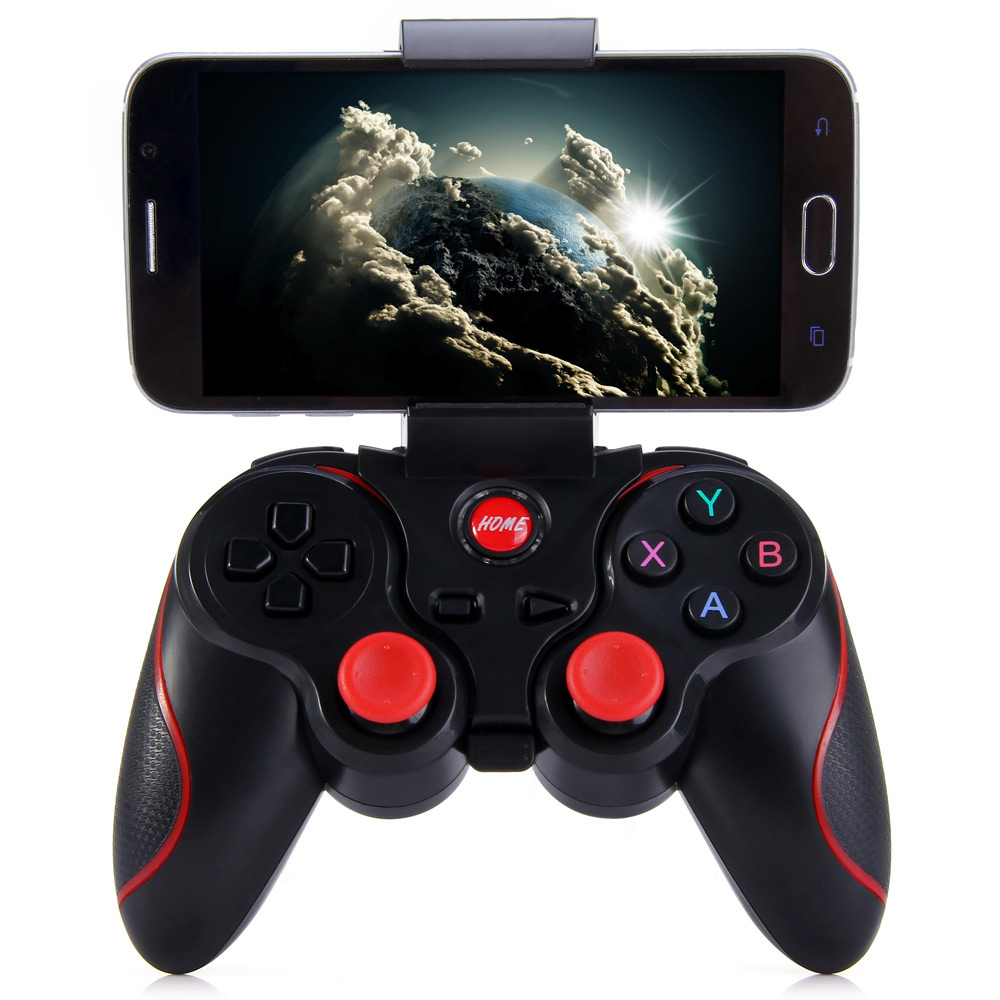 Terios X3 Drahtloser Bluetooth Gamepad Fernbedienung Joystick PC Spiel Controller für Projektor Telefon PK S3 Controller